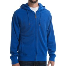 Timberland Birch River Zip Hoodie (For Men) in Turkish Sea Heather - Closeouts