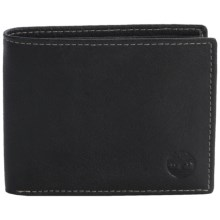 Timberland Blix Passcase Wallet - Leather in Black - Closeouts