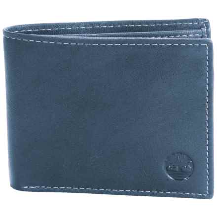 Timberland Blix Passcase Wallet - Leather in Navy - Closeouts