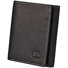 Timberland Blix Slim Trifold Wallet in Black - Closeouts
