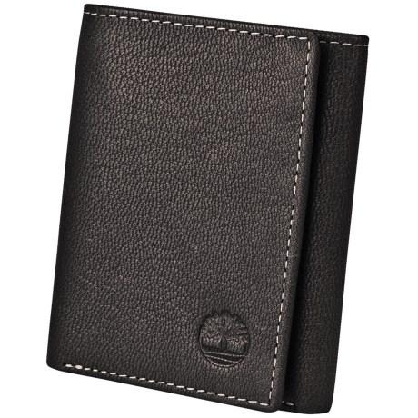 Timberland Blix Slim Trifold Wallet in Black