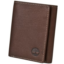 Timberland Blix Slim Trifold Wallet in Brown - Closeouts