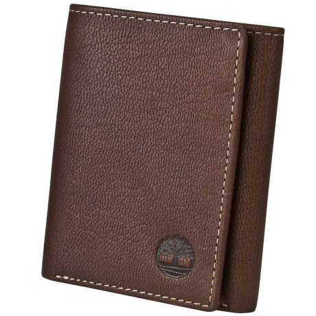 Timberland Blix Slim Trifold Wallet in Brown