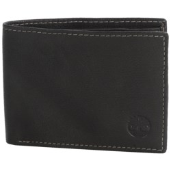 Timberland Blix Slimfold Leather Wallet in Black