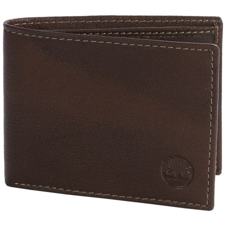 Timberland Blix Slimfold Leather Wallet