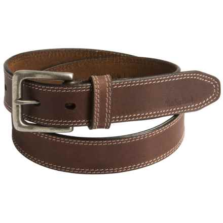Timberland Boot Leather Belt (For Men) in Dark Brown - Closeouts