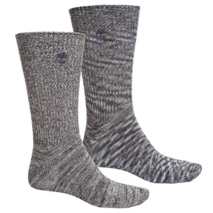 c3fe8bc167343 Timberland Boot Socks - 2-Pack, Crew (For Men) in Black -