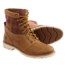 Timberland Bramhall Boots - Leather-Wool (For Women) in Wheat - Closeouts