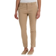Timberland Broad Bay Chino Pants - Slim Fit (For Women) in Travertine - Closeouts