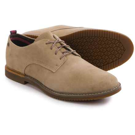 Timberland Brook Park Oxford Shoes - Suede (For Men) in Sesame - Closeouts