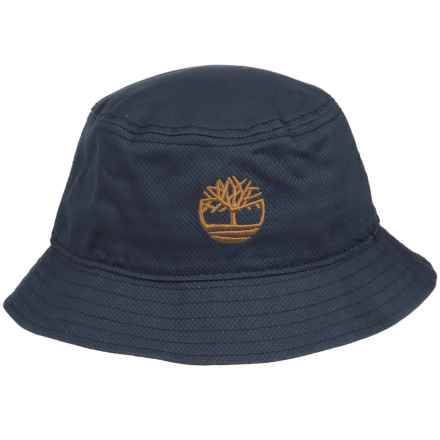 Timberland Bucket Hat with Tree Logo (For Men) in Blue - Closeouts