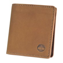 Timberland Buff Nubuck Square Wallet in Gold - Closeouts