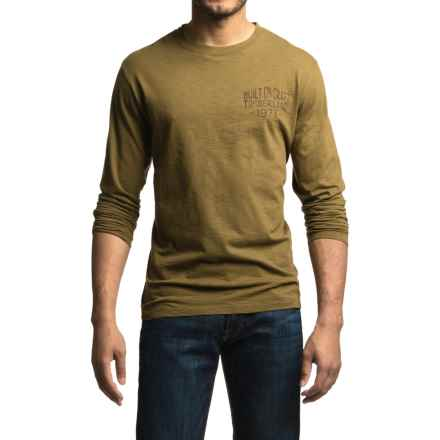 Timberland Built On Craft T-Shirt - Organic Cotton, Long Sleeve (For Men) in Military Olive - Closeouts