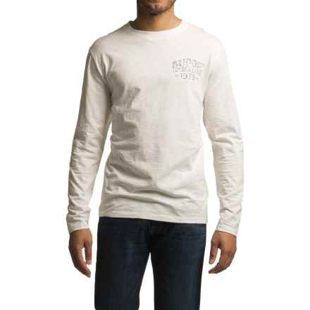 Timberland Built On Craft T-Shirt - Organic Cotton, Long Sleeve (For Men) in Picket Fence - Closeouts