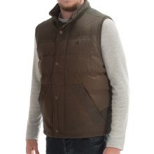 Timberland Cannon Mountain Down Vest (For Men) in Cocoa - Closeouts