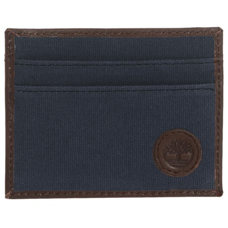 Timberland Card Case with Key Fob in Navy