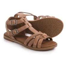 Timberland Caswell Fisherman Sandals - Leather (For Women) in Medium Brown - Closeouts