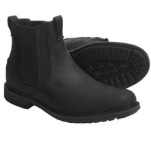 Timberland City Adventure Chelsea Boots - Pull-Ons, Leather (For Men) in Black Oiled Nubuck - Closeouts