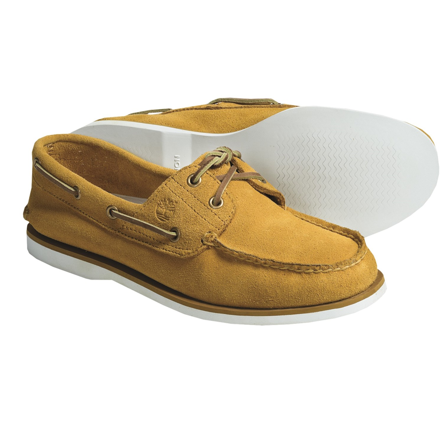 Lacing Timberland Boat Shoes