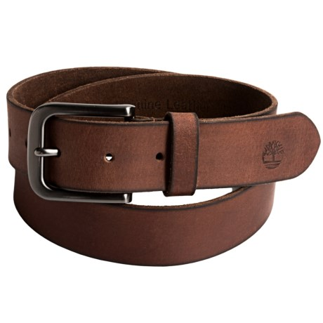 Timberland Classic Jean Belt - Leather (For Men) in Brown