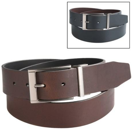 Timberland Classic Reversible Jean Belt (For Men) in Brown/Black