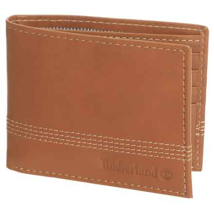 Timberland Cloudy Bi-Fold Wallet in Tan - Closeouts
