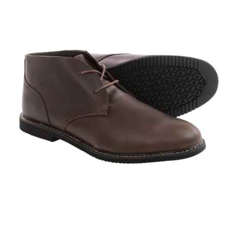 Timberland Cobleton 2-Eye Chukka Boots (For Men) in Dark Brown - Closeouts