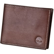 Timberland Colorado Passcase Wallet - Leather in Brown - Closeouts