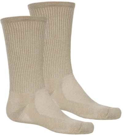 Timberland CoolMax® Hiking Socks - 2-Pack, Crew (For Men) in Stone - Closeouts