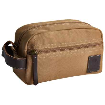 Timberland Core Canvas Travel Kit in Khaki - Closeouts
