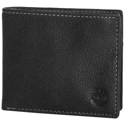 Timberland Core Sportz Passcase Wallet - Leather in Black - Closeouts