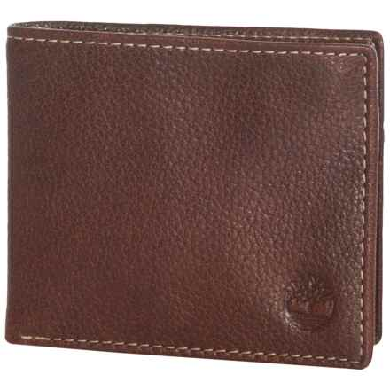 Timberland Core Sportz Passcase Wallet - Leather in Brown - Closeouts