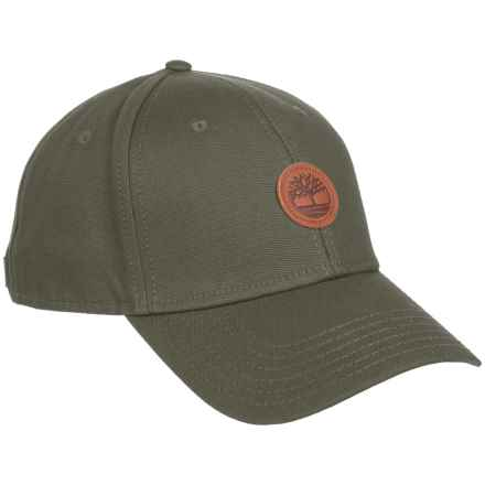 Timberland Cotton Baseball Cap (For Men) in Olive - Closeouts