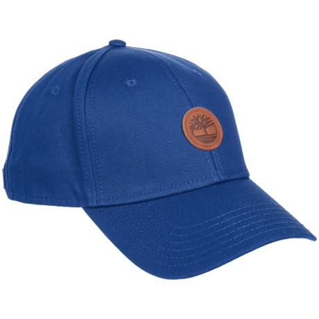 Timberland Cotton Baseball Cap (For Men) in Swedish Blue