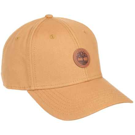 Timberland Cotton Baseball Cap (For Men) in Wheat - Closeouts