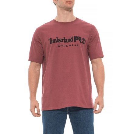 1f630275301 Timberland Cotton Core T-Shirt - Short Sleeve (For Men) in Red Oxide