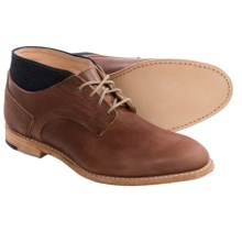 Timberland Coulter Chukka Boots - Leather (For Men) in Brown/Denim - Closeouts