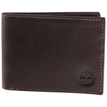 Timberland Delta Slimfold Wallet - Leather in Brown - Closeouts