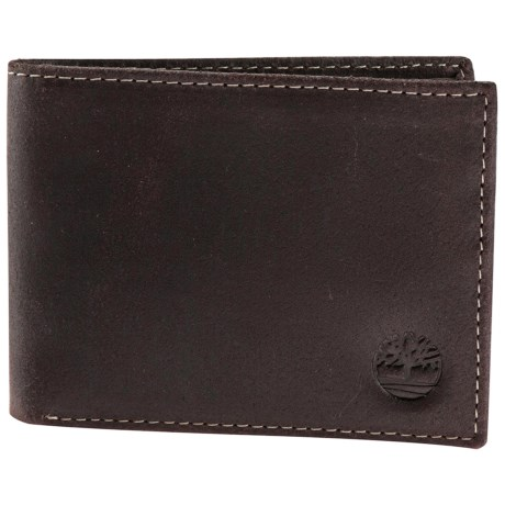 Timberland Delta Slimfold Wallet - Leather in Brown