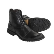 Timberland Earthkeeper 2 Leather Boots (For Men) in Black - Closeouts