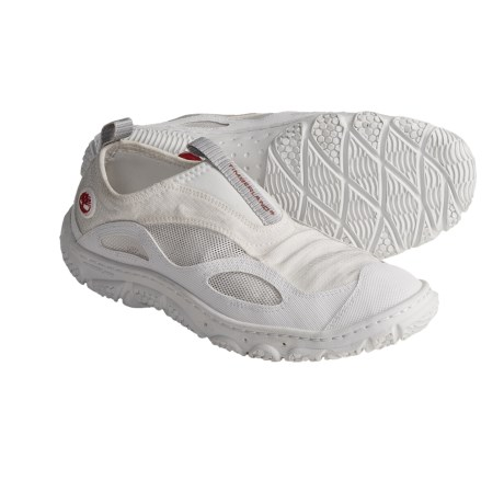 Timberland Earthkeeper Wake Shoes - Slip-Ons (For Women) in White