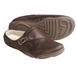 Timberland Earthkeepers Barestep Clogs - Suede, SmartWool® (For Women) in Dark Brown