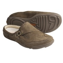 Timberland Earthkeepers Barestep Clogs - Suede, SmartWool® (For Women) in Dark Olive - Closeouts