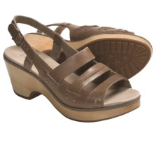 Timberland Earthkeepers Barnstable Woven Sandals - Leather, Slingback (For Women) in Mocha - Closeouts