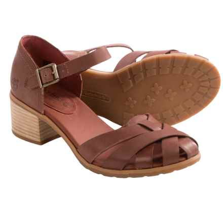 Timberland Earthkeepers Barnstead Fisherman Sandals (For Women) in Light Brown - Closeouts