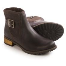 Timberland Earthkeepers Bethel Heights Ankle Boots - Leather (For Women) in Brown - Closeouts