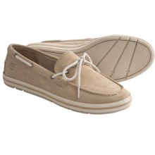 Timberland Earthkeepers Casco Bay Boat Shoes - Suede (For Women) in Tan Suede - Closeouts