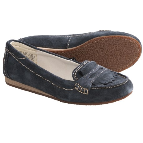 Timberland Earthkeepers Caska Kiltie Loafer Shoes - Suede (For Women) in Blue