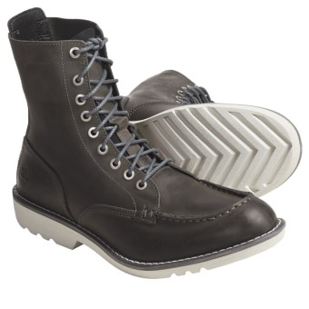 Timberland Earthkeepers City Escape Boots - Leather, Recycled Materials (For Men) in Grey
