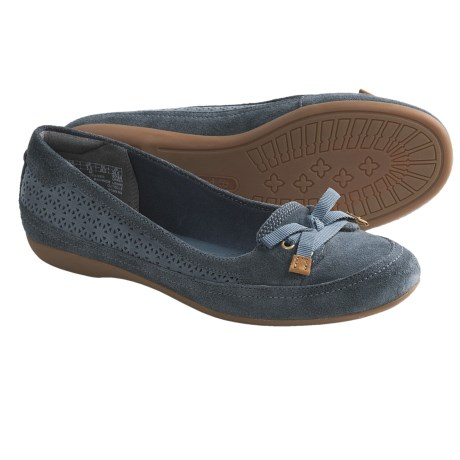 Timberland Earthkeepers Falmouth Ballerina Shoes - Suede (For Women) in Blue